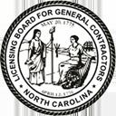 North Carolina License General Contractor